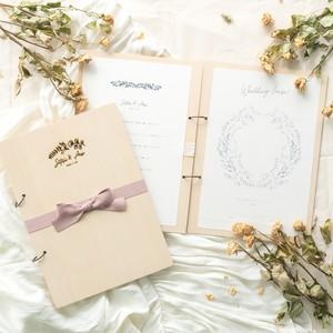 木製 結婚証明書(誓約書) / ホワイト