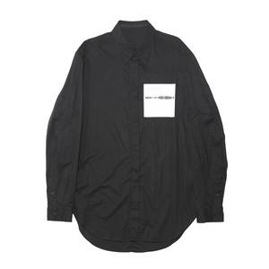 677SHM1-BLACK / SHAPEDNOISE シャツ