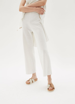CERROJILLO KNIT CROP TROUSERS
