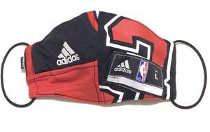 【デザイナーズマスク 吸水速乾COOLMAX使用 日本製】NBA BULLS SPORTS SPECIAL adidas MASK CTMR 0225011