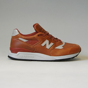 "NEW BALANCE M998BESP ""BESPOKE HORWEEN""ニューバランス MADE IN U.S.A. ホーウィンレザー ブラウン"