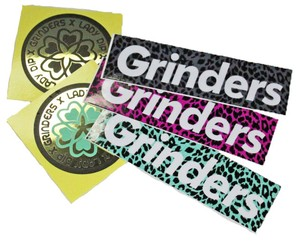 GRINDERS mini sticker pack