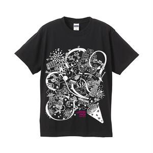 オーカTシャツ 2016モデル 黒 サイズS~XL(B-2016)