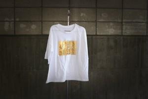 ゴールドプリント カットソー