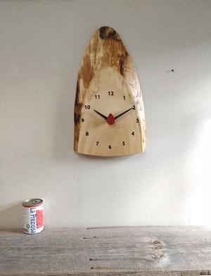 森の掛け時計 トチ