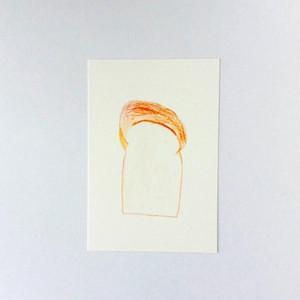 ポストカード 食パン