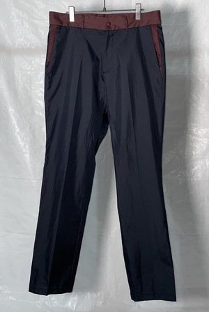SS2000 MIUMIU POLYESTER TROUSERS