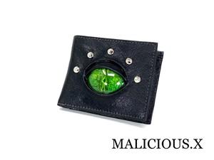 reptiles(A) eye folding wallet / green