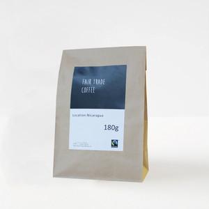 フェアトレードコーヒー【粉】 ニカラグア産 180g