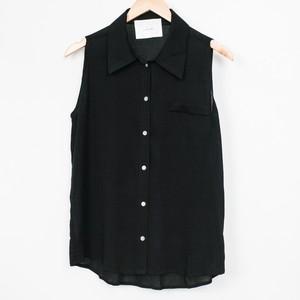 nselection ノースリーブシャツ / BK