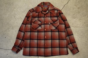 USED 60s Pendleton Board Shirt -Small S0755