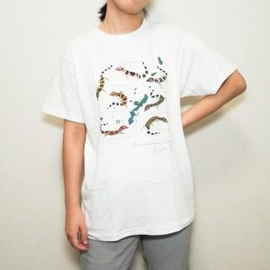 日本のトカゲモドキTシャツ