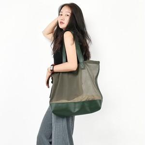 Nylon Handbag Bag Casual Tote Bag Large Capacity Bag Vintage Bag カジュアル メッシュ トートバッグ ハンドバッグ ビンテージ (YYB0-4593022)