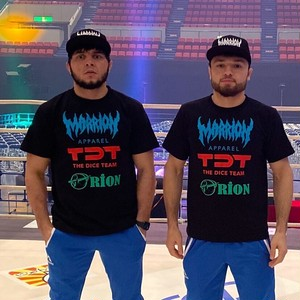 Teamアゼルバイジャン!Tee (MARRION APPAREL×TDT×ORION FIGHT CLUB)
