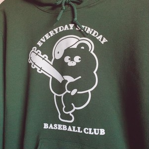 ベースボールクラブパーカー