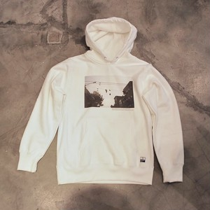 Kemmy Photo Sweat Parka WHITE