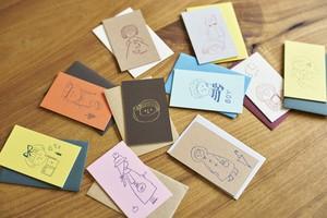 【手刷り】凸凹カード