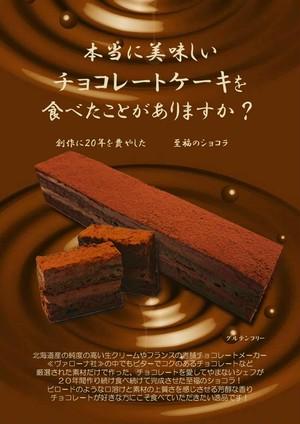 無添加!本当に美味しいチョコレートケーキ【至福のショコラ】