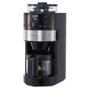 [予約販売] siroca コーン式全自動コーヒーメーカー SC-C111