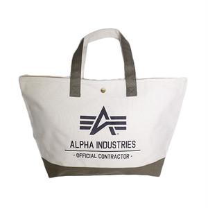 アルファインダストリーズ ALPHA INDUSTRIES トートバッグ メンズ レディース 40105-NAKA ベージュ カーキ 国内正規
