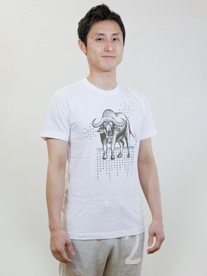 Buffalo T-shirt White