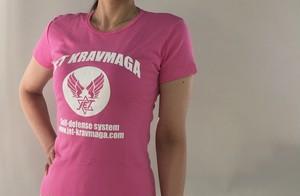 【セール30%OFF】JKM オリジナルレディースTシャツ・ピンク
