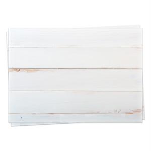 A3背景紙「シャビーな白い木材 #009」