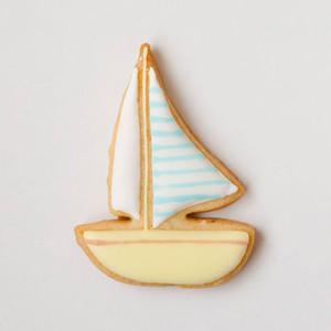 ヨット アイシングクッキー