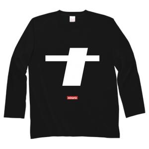 minario / ナ(na) LOGO LONG SLEEVE T-SHIRT BLACK
