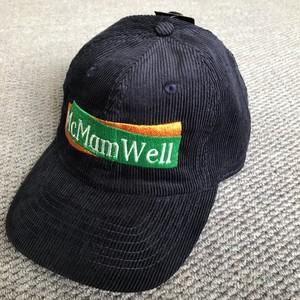 "McMamWell : 6panel刺繍CAP ""NAVY"""