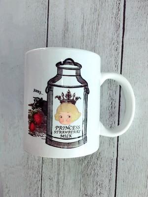 ラブーム限定デザインマグカップ(ラブちゃんストロベリーミルク)