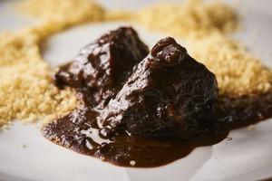 【Carne】牛ホホ肉の赤ワイン煮込み クスクス添え 2人前 自家製フォカッチャ付き