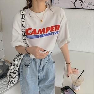 【送料無料】プリントロゴ♡ビッグTシャツ♡