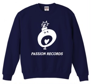 PASSiON RECORDS LOGO sweat navy