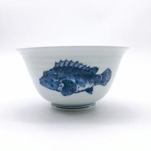 魚紋 多用そり小丼