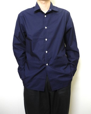 "Pocket Shirts ""どネイビー"""