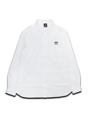 SWALLOW PATCH SHIRT white