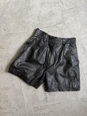 MISS JOY vintage  leather pants