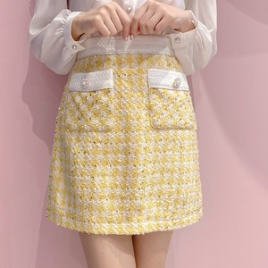 【Sister Jane】Honey Bee Tweed  Mini Skirt