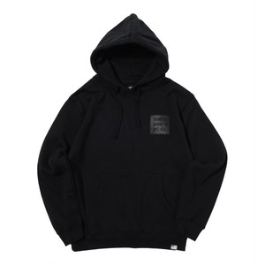 SAME COLOR BOX LOGO PULL PARKA (BLACK) [TH-17AW-013]