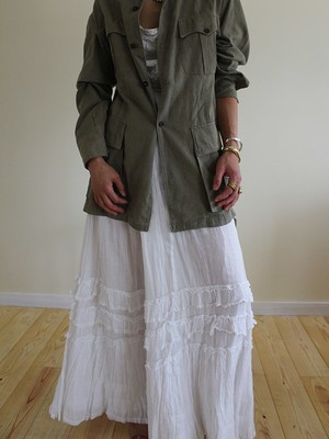 1900s antique skirt