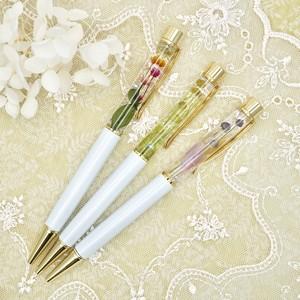 ハーバリウムボールペン Stem Flowers〈替芯付き〉