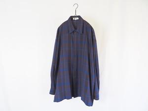 1990's ISSEY MIYAKE im products レーヨンシャツ L