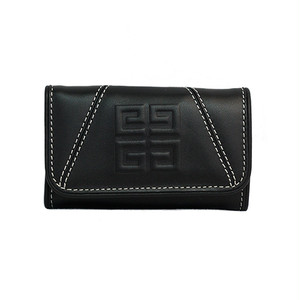 GIVENCHY/ジバンシー ロゴ6連キーケース ブラック(Y21444)
