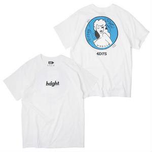 """HAIGHT(ヘイト)""""HONEY POT S/S TEE ft 4D7S""""[WHITE]"""