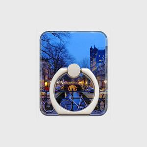 【受注生産】 スマホリング*amsterdam-bike*シルバー