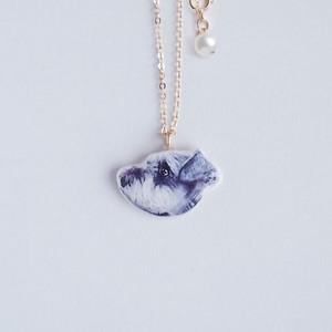 うちの子 * ネックレス(40cm) K14gf 本真珠