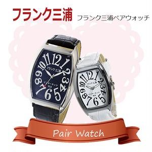 【ペアウォッチ】フランク三浦 インターネッツ別注  腕時計 FM06IT-BK FM00IT-WH