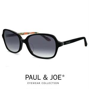 ポール&ジョー サングラス flora03a-no61 paul & joe レディース 女性用 PAUL&JOE ブラック