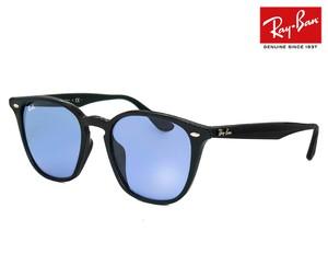 レイバン サングラス Ray-Ban rb4258f 60180 52mm rb4258-f 601/80 ウェリントン ライトカラー ブルー レンズ